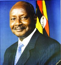 H.E Yoweri Kaguta Museveni, President of the Republic of Uganda