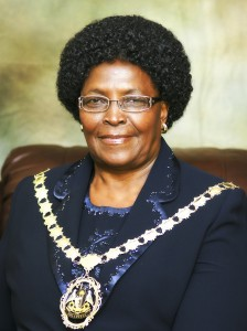 The Executive Mayor of Ehlanzeni District Municipality Clr Letta Shongwe